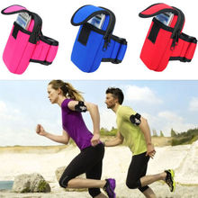 free shipping Outdoor Cycling Sports Running Gym Phone Arm Band bag wrist Pouch Key bag Wallet