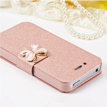 fashion Luxury leather cover for 5 5s i phone4 phone6 phone 5 case for Apple iphone 4 4s 6 7 4.7inch 6 plus coque 6s 6plus(China)