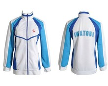 Anime Free! Iwatobi Swim Club Haruka Nanase Cosplay Costume Jacket Unisex Hoodie High School Sport Wear For Men and Women(China)