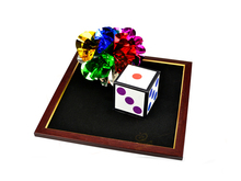 Dice to Flower ball- Stage magic trick, dice magic,dice disappearing,mentalism,close up
