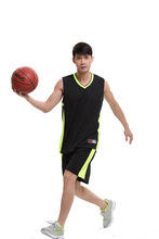 Men and women with the basketball sports training vest suits jersey shirt printing, custom design
