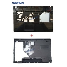 New Palmrest Upper Likd Keyboard Cover &Bottom Case Back Lid For Lenovo G770 G780 AP0O5000600 AM0H4000100 W/O Touchpad