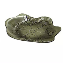 1Pcs/Set Lotus Leaf Shape Alloy Coffee Cup Pads Chayuanchuanshi Tea Cup Mat Exquisite Engraving Embossed Tableware cp-07