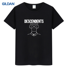 Descendents Punk Rock Band Everything Sucks 2017 T-Shirt Shop Homme Plain T Shirt For Mens Cotton Short Sleeve Tee Shirt For Men