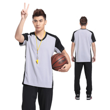 Men's Official Referee Umpire Jersey Comfortable Light weight Shirt for Officials Breathable More Printing Hot Sale(China)