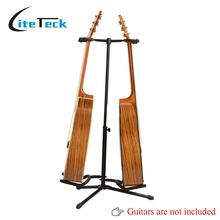 High Quality Double Guitar Stand Detachable Folding Adjustable for Acoustic Electric Guitar Bass