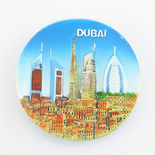 Limited Offer, Quality Fridge Resin Magnet, Beautiful Hotel Buildings in Dubai, United Arab Emirates Souvenir, 11990