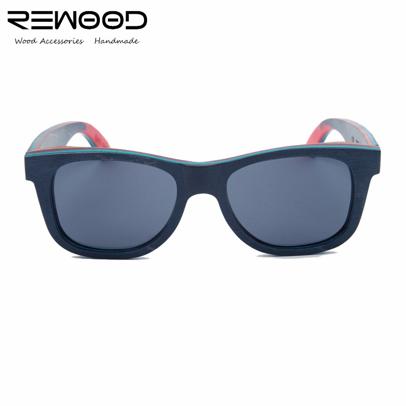 Rewood Brand Unisex Retro Wooden Bamboo Sunglasses Polarized Lens Vintage Eyewear Accessories Sun Glasses For Men/Women <br><br>Aliexpress