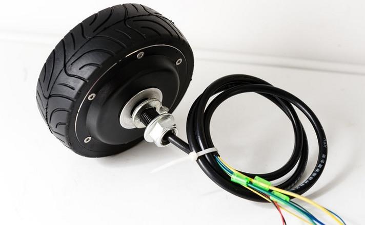 4inches brushless dc hub motor hall sensor ebs enable