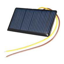 68*36*3mm 5V 0.3W 60mA DIY Mini Solar Epoxy Resin Plate Solar Cell Battery Solar Panel Power Charger Led Solar Light Lamp