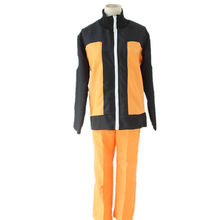 Anime Naruto Cosplay Costume Uzumaki Naruto 2nd Generation Full Set Fancy Party Uniform Stage Performance Costume(China)