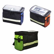 Cycling Bags Mountain Bike Front Basket Pannier Bicycle Frame Tube Handlebar Travel Bag Outdoor Sport ccessories 20cm*15cm*12cm