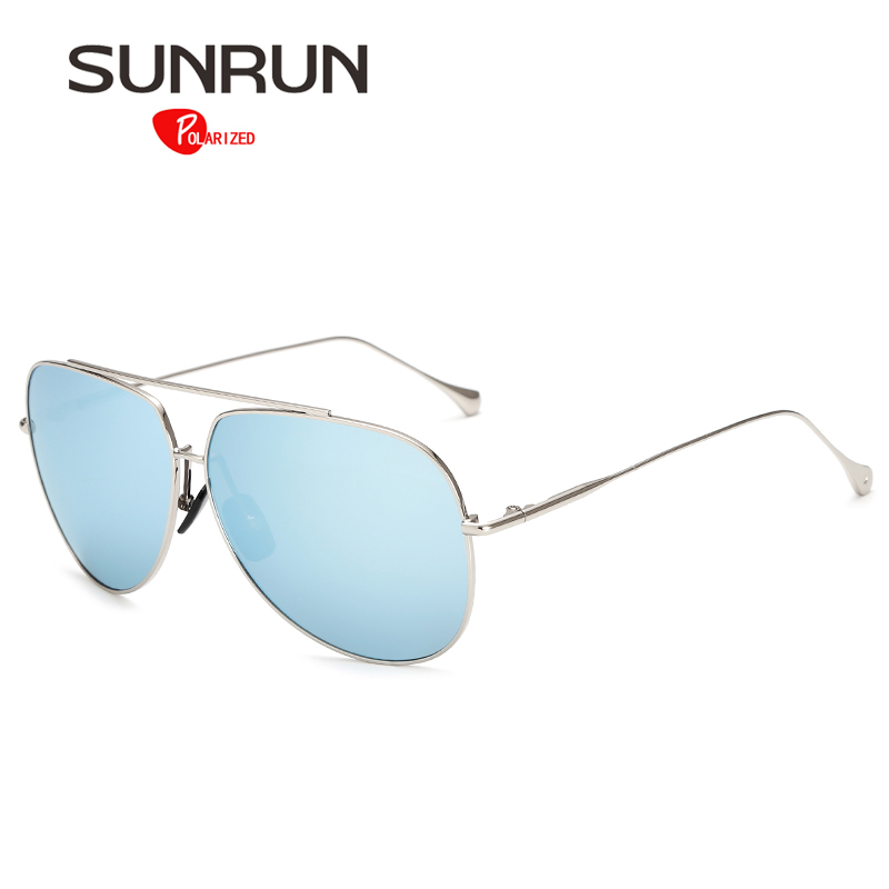 SUNRUN Sunglasses Polarized Men Over Sized Sun Glasses for Women Vintage Style Mirror Eyewear gafas de sol 1006<br><br>Aliexpress