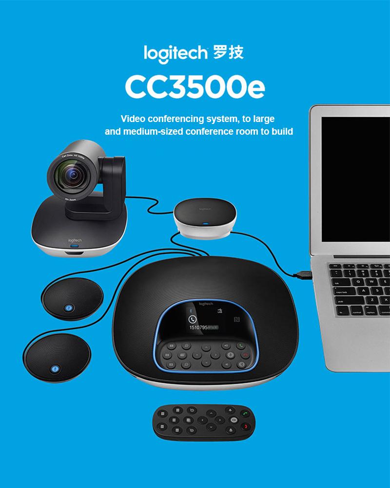 Logitech cc3500E webcam 4