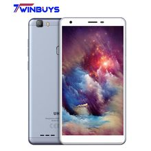 UHANS S3 Mobile Phone 6.0 inch HD MTK6580AW Quad Core 1GB RAM 16GB ROM Android 6.0 8MP WCDMA 3G Fingerprint Touch ID SmartPhone