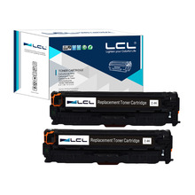 LCL 312A 312 A CF380A 380A 380 CF 380 A (2-Pack)Compatible Laser Toner Cartridge for HP Color LaserJet Pro M476dn MFP/M476dw MFP(China)