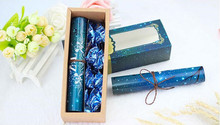100pcs Personalized photos custom wedding invitation cards luxury blue star style European wedding invitation cards