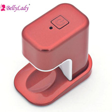 BellyLady Single Finger LED Lamp Nail Dryer Phototherapy Light Therapy USB Nail Lamp For DIY Gel Nail Art Polish Nail Tools Red