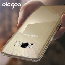 Oicgoo Ultra Thin Clear Soft TPU Case For Samsung Galaxy S8 S8 plus Transparent Full Cover Case For Samsung Galaxy S7 S7 Edge S8(China)
