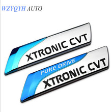 2017 Pure Drive Xtronic Cvt Emblem Badge 3d Car Sticker Decal Styling For Nissan Qashqai X-trail Juke Tenna Tiida Sunny Note(China)