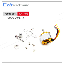 Buy Brushless electric machine A2212 Brushless Motor 1000KV RC Aircraft Plane Multi-copter Brushless Outrunner Motor for $4.40 in AliExpress store