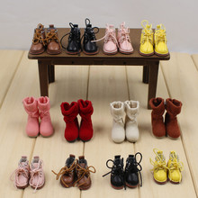 Suitable for 1/6 doll, normal doll, joint doll, icy, jecci five, licca body, for 30cm doll, shoes & boots(China)