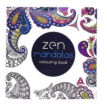 1 Pcs 12 Page 24 Figure Adult Child Graffiti Book Zen Manddlds Colouring Book For Adult Children To Spend Time To Relieve Stress