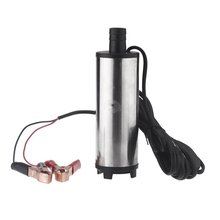 DC 12V / 60W Water Oil Diesel Fuel Transfer Pump Submersible Pumps Car Camping fishing Submersible