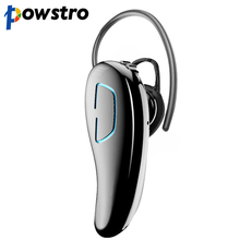 powstro Bluetooth Earphone Clear Voice Anti-noise Wireless Headset Bass Stereo Music Earphones for iPhone iPad PC Mobile Phone