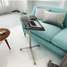 250628/Simple lazy table Laptop table Bed table with desk sofa Side stand up and down Movable bedside table(China)