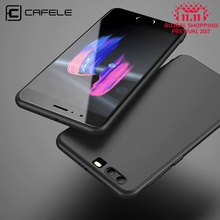 CAFELE soft Case For huawei honor 9 cases TPU silicon Slim Back Protect Skin Ultra Thin Phone Cover for huawei honor 9 case(China)