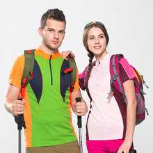 Hiking T Shirt Woman Man T Shirt Summer 2016 Quick Dry Breathable Couple Sport Climbing tshirt Brand China Shop Online Stores(China)