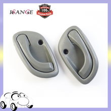 ISANCE Door Handle Inside Interior Front or Rear Right / Left Grey For SUZUKI GRAND VITARA 1998-2005 OEM# 8311060G01 8313060G01(China)