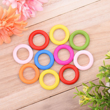 2017 10pcs/pack DIY Pet toy Color rings accessories for Pet  Multipurpose DIY Bird Toy Accessories for Decorations