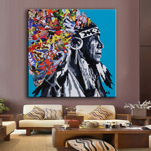 Large sizes Wall Art Prints Fine Art Prints oil Painting Wall Decor Cantstopgoodboy Chief Painting for Print Wall picture