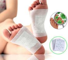 50pcs/lot Bamboo Detox Foot Pad Patch Foot Massage Relaxation Stress Relief Improve Sleeping Body Care Feet Massager(China)