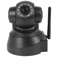 2pcs/lot Wireless and Wired Original IP Security Camera CCTV Surveillance Camera Webcam with IR Filter/ Night Vision