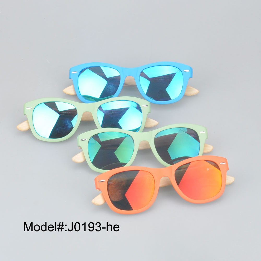 J0193 acetate wood/bamboo temple sunglasses WITH REVO LENS Spring hinge   sunshade  100%UVA<br><br>Aliexpress