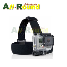 Action Camera Gopro Accessories Headband Headstrap Professiona Mount Tripod Helmet For SJCAM Go Pro Hero 3/4 Xiaomi Yi Sport Cam