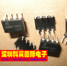 10PCS  [good quality] [ ] AQW214EH solid state relay / photo coupler direct plug-in DIP-8