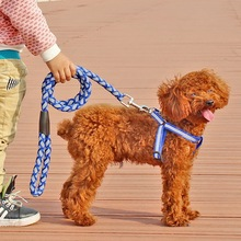 Outdoor Adjustable Pet Dog Hardness Leash Rope Leads Training Walk Pet Products S,M,L(China)