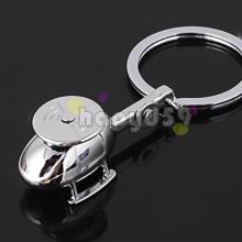 234pcs alloy mini helicopters aircraft model keychain car key ring couple lover key chain advertising wedding gift keychains(China)