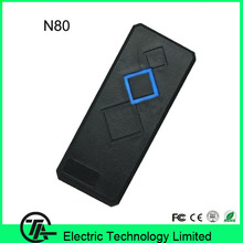 125KHZ RFID card reader small waterproof good quality biometric access control system card reader N80