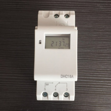 DHC15A Weekly Programmable Digital Timer Switch DIN RAIL 16A 220VAC Electronic Time Relay Control 7 Days