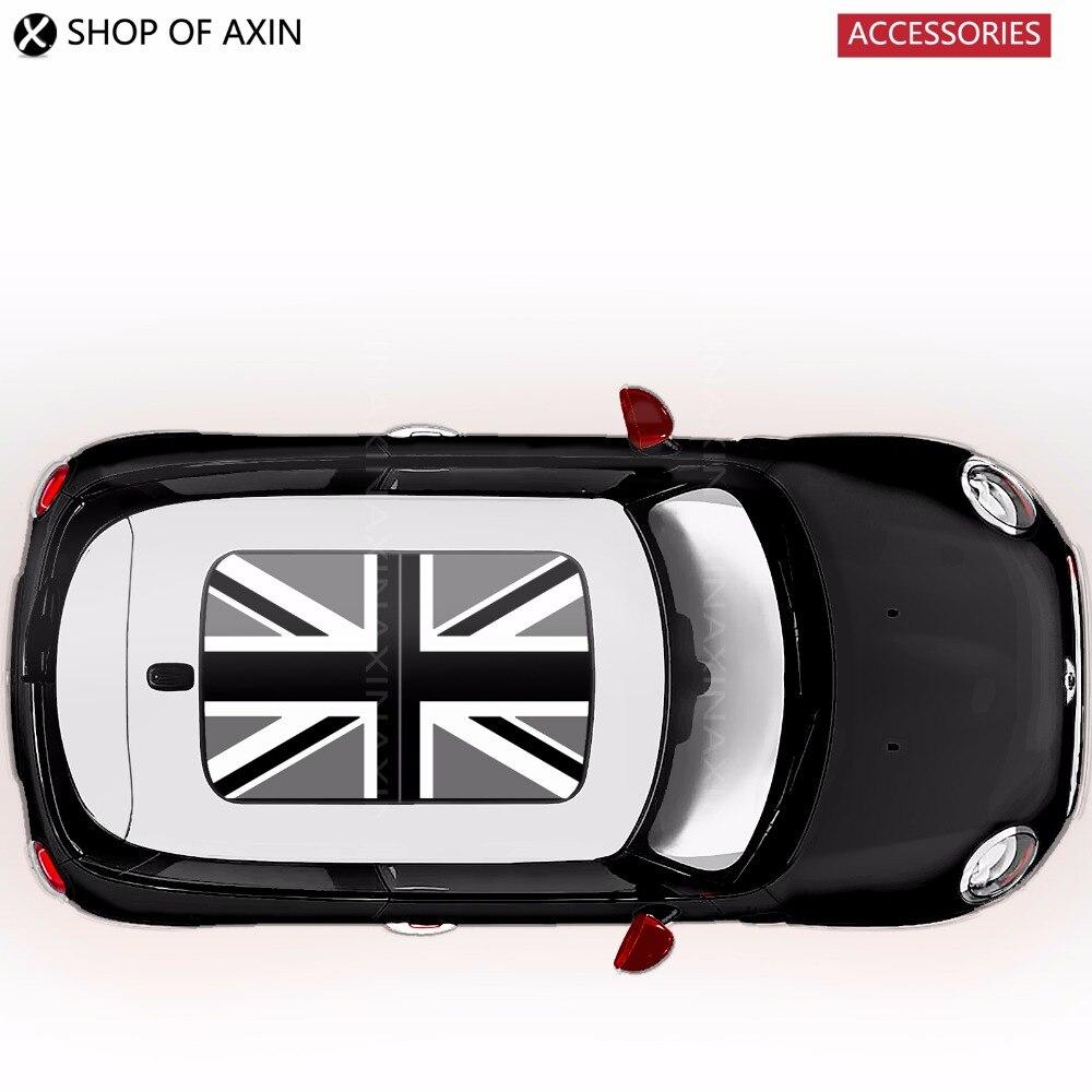 Grey UK sun roof Graphics stickers Sunroof for MINI Cooper clubman countryman hardtop R50 R52 R53 R55 R56 R60 R61 F54 F55 F56<br>