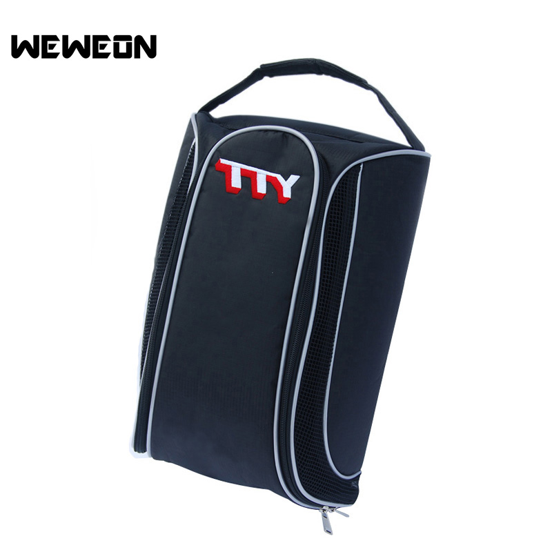 Best Seller Unisex Golf Shoe Bag Breathable Shoe Bagfor Golf Large Capacity Portable Nylon Fabric Golf Shoes Organizer(China (Mainland))