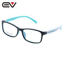 Fashion Baby Kids Toddler Acetate&Silicone Optical Eyeglasses Frames Girls Boys Children's Spring Hinge Eyewear Frames EV1388
