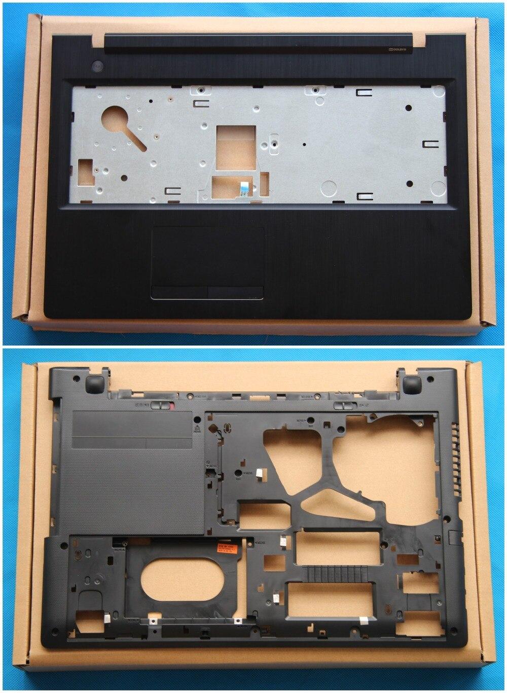 New Original For Lenovo G50 G50-45 G50-70 G50-80 Z50 Z50-45 Palmrest Cover Upper Case + Bottom Case AP0TH000400 AP0TH000800<br>