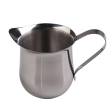 3OZ/5OZ/8OZ Stainless Steel Coffee Cream Milk Cup Waist Shape Coffee Pot French Press Refractory Jug Kitchen Accessories(China)