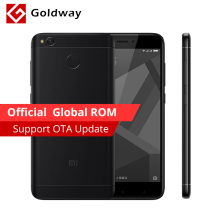 "Original Xiaomi Redmi 4X 4 X 4GB RAM 64GB Mobile Phone Snapdragon 435 Octa Core 5.0"" HD 4G LTE 13.0MP 4100mAh Fingerprint ID"